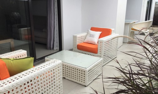 Modern apartment for rent in Péreybère