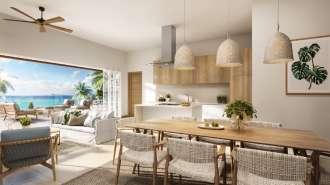 Projet de luxe et de style de vie sur la côte nord
