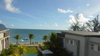 Magnificent Beachfront Penthouse with View on Le Morne