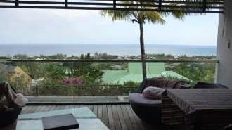 Appartement RES avec vue imprenable sur le lagon turquoise